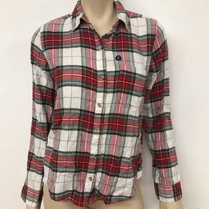 Abercrombie and Fitch flannel button up
